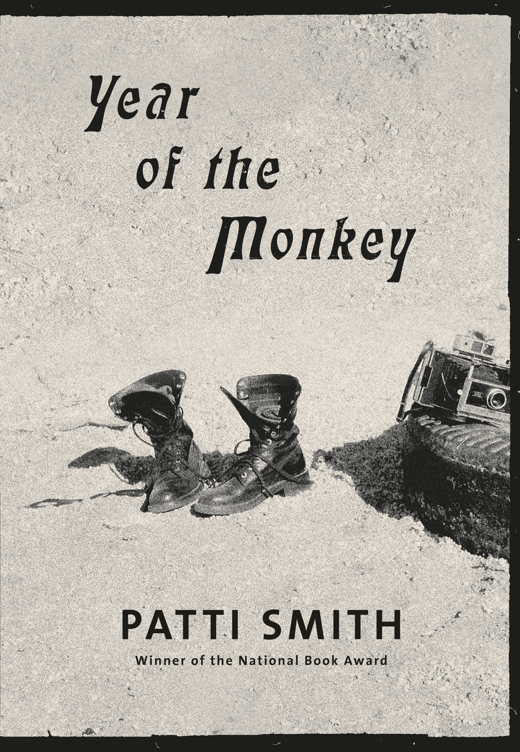 Patti Smith Year of the Monkey cover