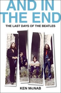 And In the End: The Last Days of The Beatles Book Cover