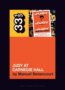 Judy Garland's Judy at Carnegie Hall Book Cover